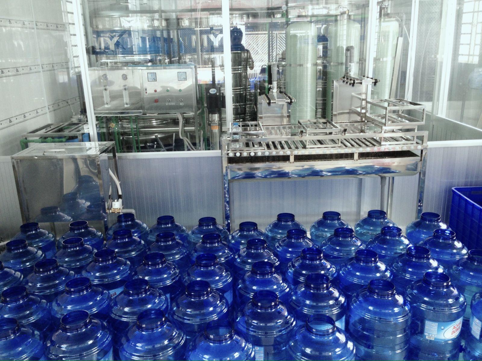 Dây chuyền sản xuất nước uống