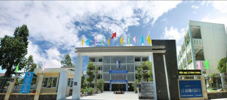 Hệ thống lọc nước tinh khiết tại trường tiểu học Lê Đình Chinh