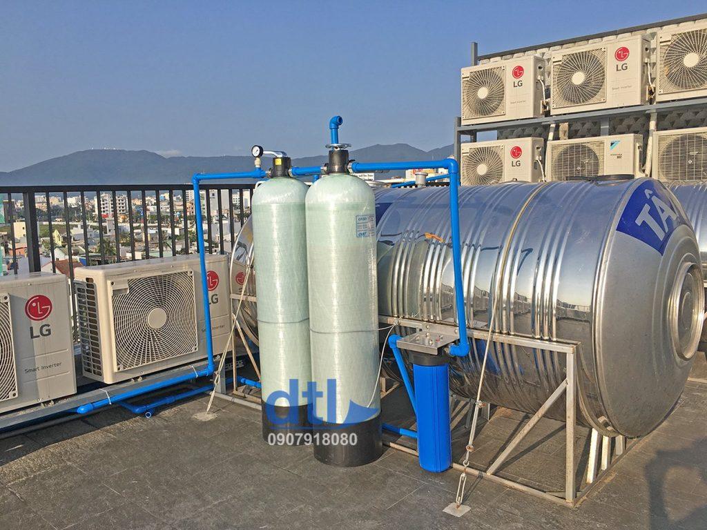 Lắp đặt Cột lọc composite lọc nước đà nẵng